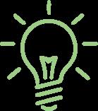 Light bulb demonstrating ideas