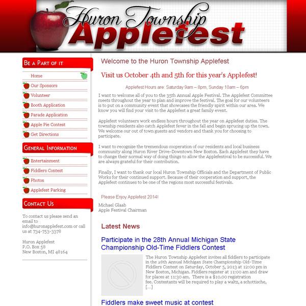 Huron Township Applefest